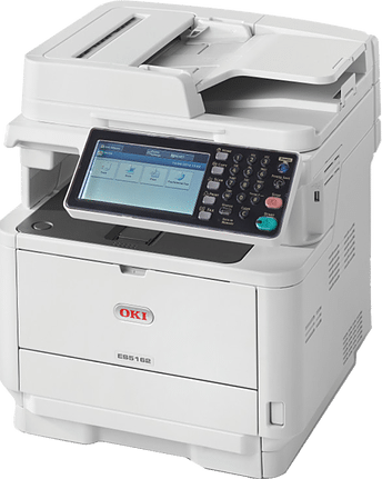 OKI MONO A4 MULTIFUNCTION PRINTER ES5162 side