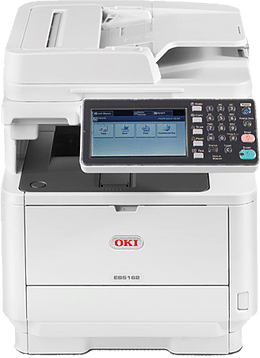 OKI MONO A4 MULTIFUNCTION PRINTER ES5162 front