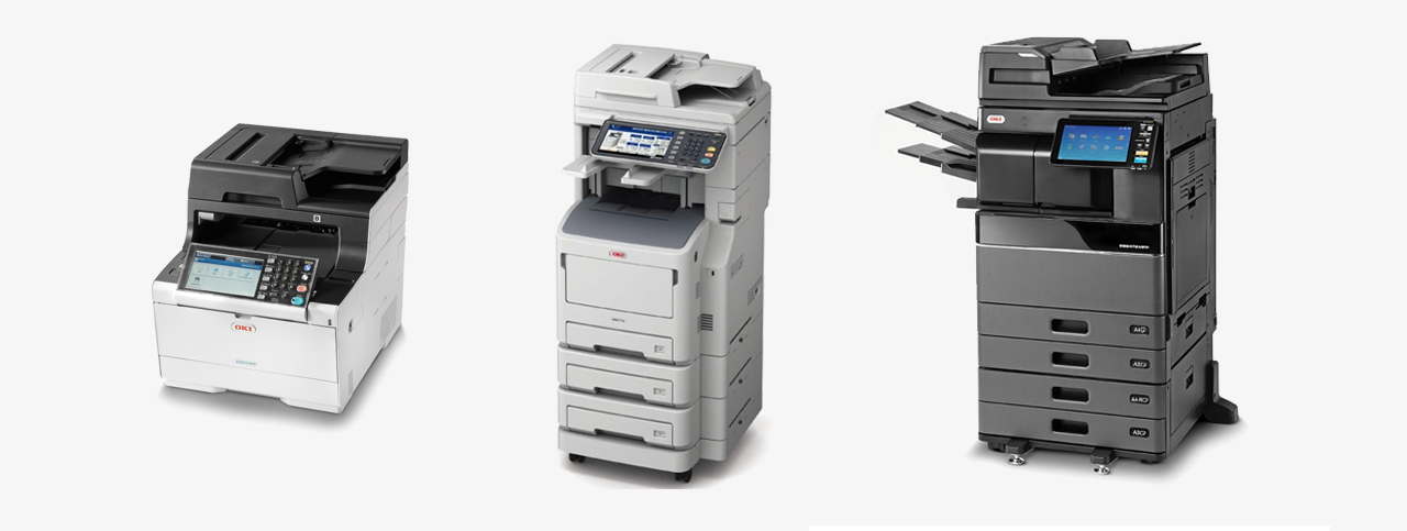 buy or rent OKI printers & copiers